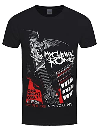efc47d2242818 My Chemical Romance Unisex-Adult s Official Dragon NYC T Shirt ...
