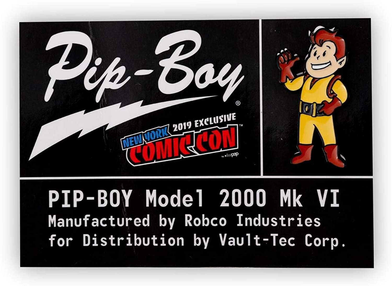 Fallout Pip-Boy Original Character Pin | Official Fallout Pip-Boy 2000 Mk VI Collectible | Exclusive Retro-Style Enamel Collector Pin Yellow