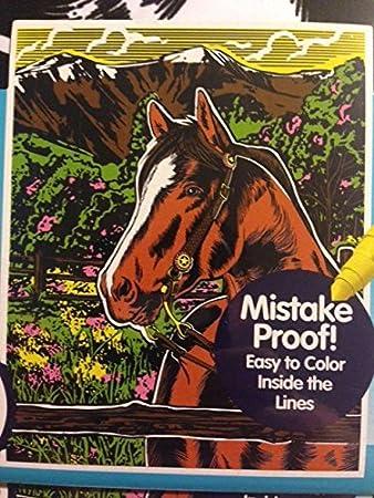 Amazon.com: Horse 16 X 20 Color Your Own Jumbo Velvet Poster: Toys ...