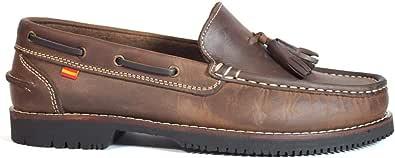 Zapatos náuticos Tipo Apache Unisex La Valenciana Montijo Marrón