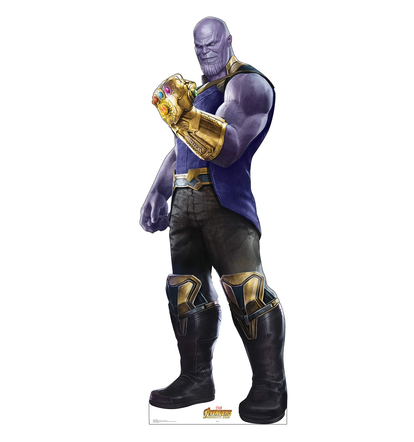 Advanced Graphics Thanos Life Size Cardboard Cutout Standup - Marvel's Avengers: Infinity War (2018 Film) by Advanced Graphics