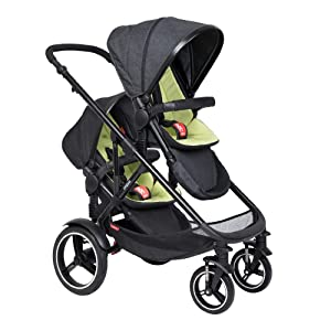 Phil & Teds 219 Voyager Buggy with Doubles Kit (Apple)