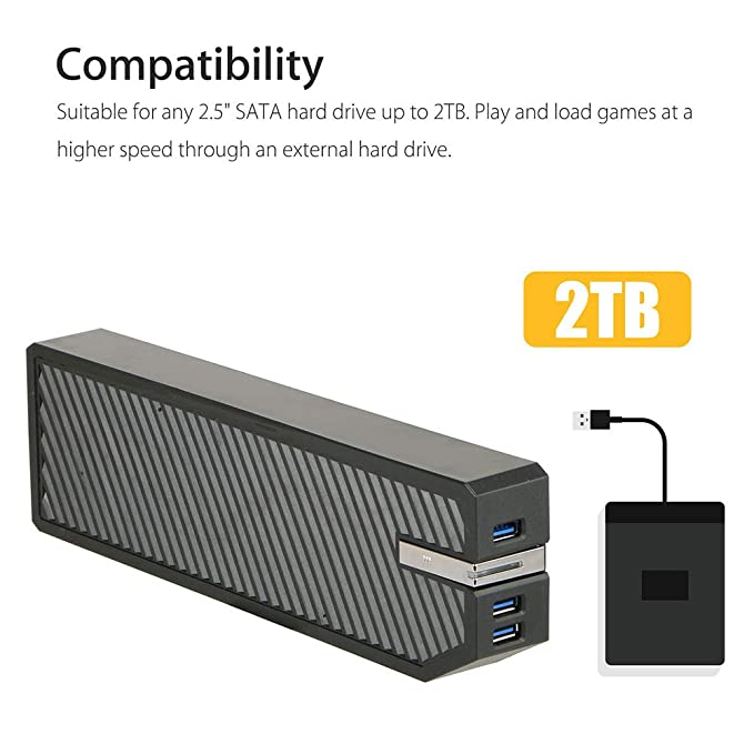 Amazon.com: dezirZJjx - Adaptador de disco duro externo para ...