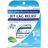 Boiron Jet Lag Relief, 3 Pack of 80-Pellet Tubes, Homeopathic Medicine to Relieve Nausea, Stiffness, Muscle Pain…