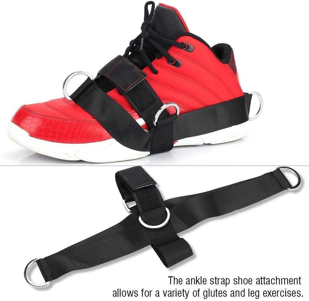 Broco 1Pair Kn/öchel Fu/ß Schuh-B/ügel-Sport-Eignung-/Übung Gluteal Workout Pull Traction Tool Silber
