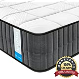 Double Mattress ,Inofia Sleeping Memory Foam Queen Mattress 12 inch with Super Comfy 3D knitted Breathable Cover,Ergonomic Design, CertiPUR-US