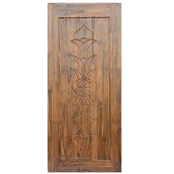 Splice Door Solid Teak Wood Door 30 Kg 1 98x0 91 M