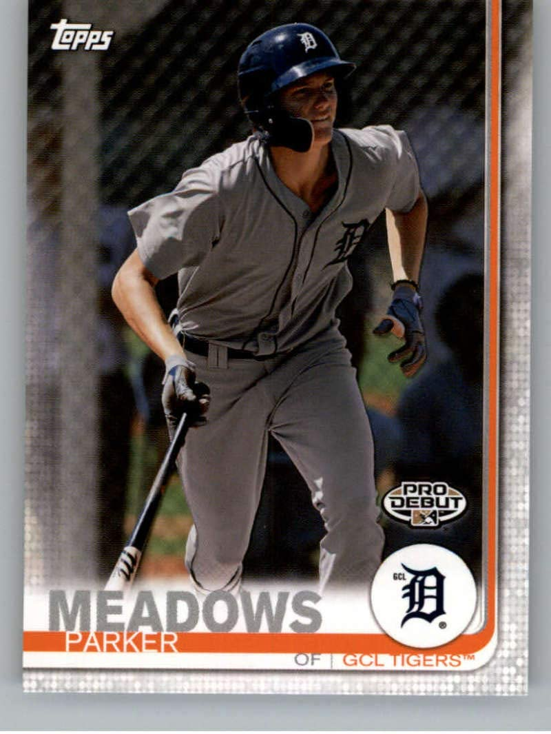 2019 Topps Pro Debut #16 Parker Meadows GCL Tigers Baseball Card