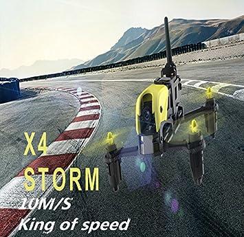 Hubsan H122D X4 Storm Quadcopter Dron con cámara 1M Micro FPV ...