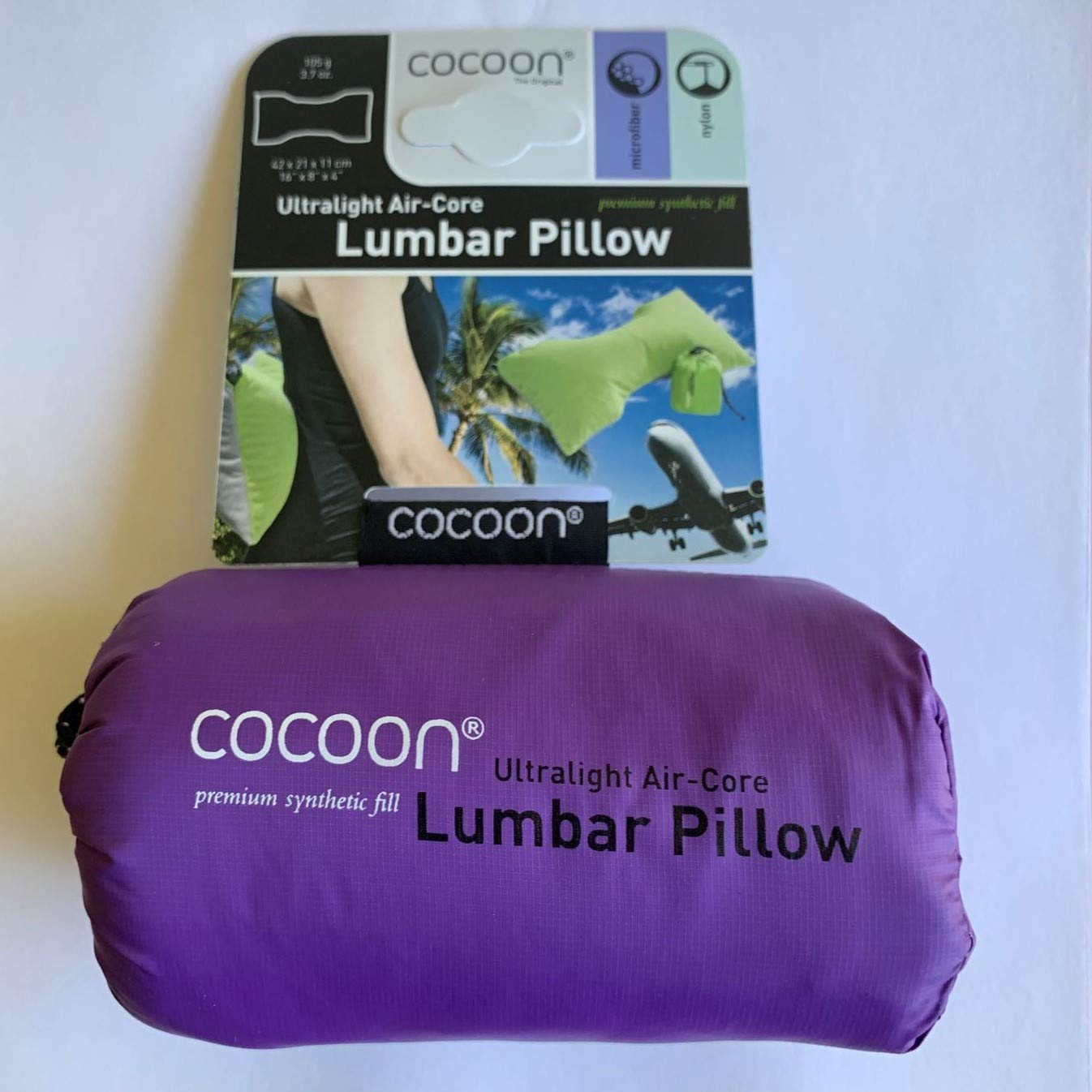 Amazon.com: Cocoon Ultralight Air-Core Lumbar Pillow: Sports ...