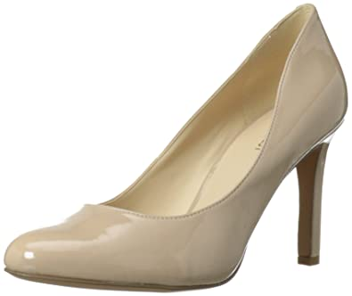 Nine West Women's Gramercy Dress Pump,Taupe Synthetic,10 ...