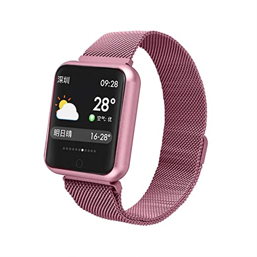 Smart watch Pantalla de Color Reloj Inteligente P68, Ejercicio ...