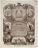Independent Order of B'nai B'rith, this is to certify./L. Kurz.