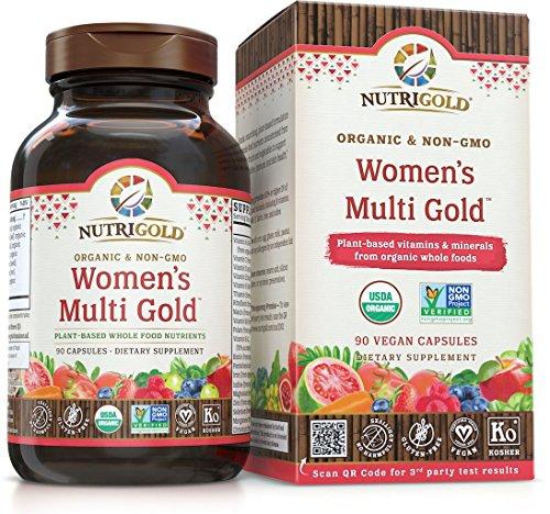 Nutrigold Whole Food Women S Multi Gold