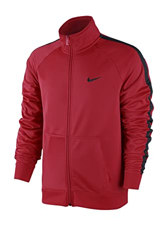 Nike Season Poly Knit Chaqueta, Hombre, Rojo/Negro (University Red Black), M: Amazon.es: Deportes y aire libre