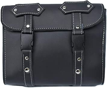 ARD CHAMPS Motorcycle Tool Bag Travel Tool Kit Bag Luggage PU Leather Bag Storag