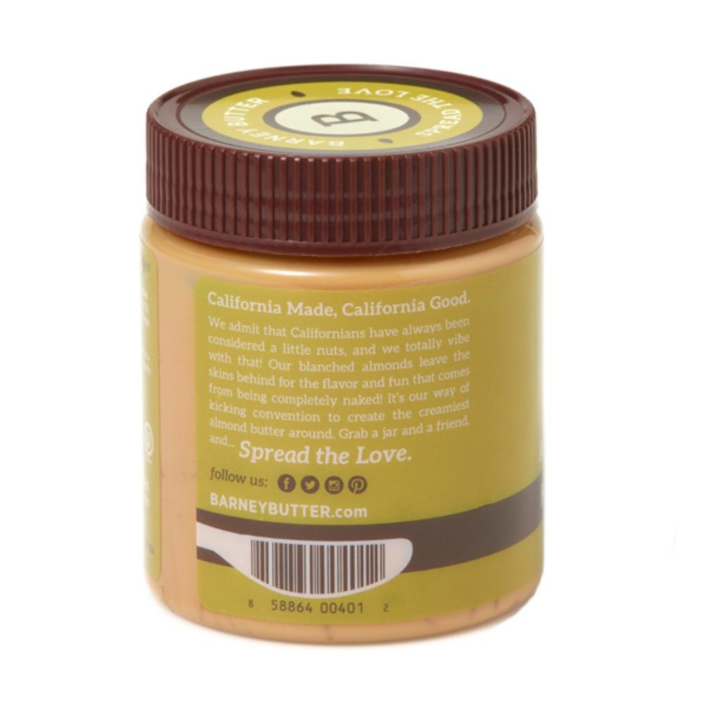Barney Butter Almond Butter, Honey + Flax, 10 Ounce