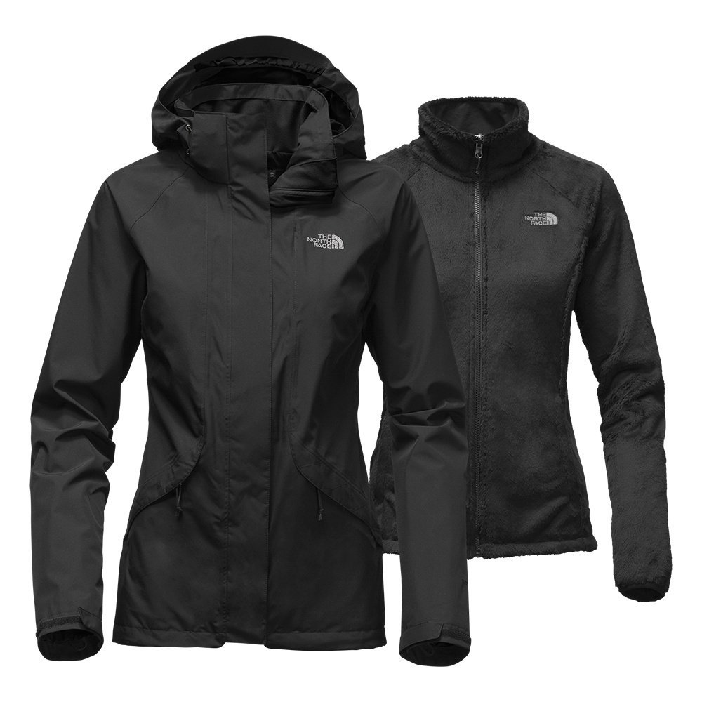 The North Face Women's Boundary Triclimate Jacket Black (Large)