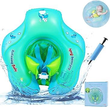 RuoCherg Flotador de Natación para Bebés, Anillo de Natación Bebé ...