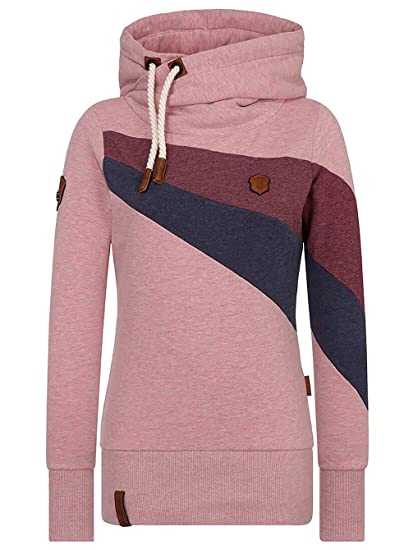 NAKETANO Madame Unschuld Bangs Hooded Sweatshirt for Women