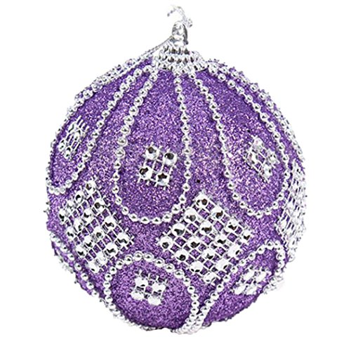 Outdoor Lighted Balls For Trees - 4