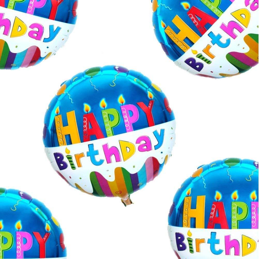 Amazon 18 Happy Birthday Balloons Party Supplies Foil Mylar Helium Balloon20pcs Toys Games