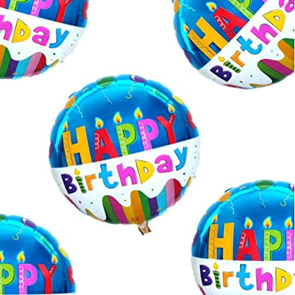 18quot Happy Birthday Balloons Party Supplies Foil Mylar Helium Balloon 20pcs