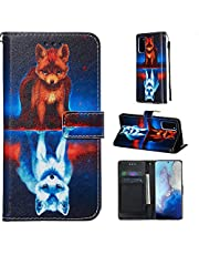 Miagon for Samsung Galaxy S20 Wallet Case,PU Leather Folio Flip Cover with Stand Card Slots Magnetic Closure,Fox