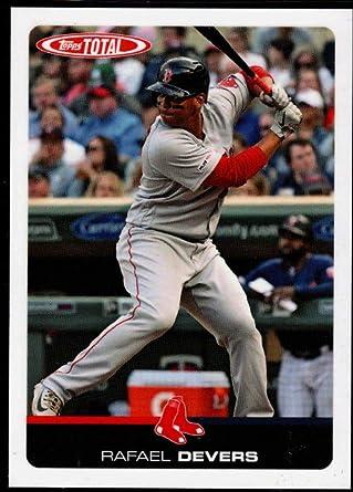 2019 Topps Total ~ Boston Red Sox ~ Wave 4 ~ Vazquez Xander Bogaerts Rodriguez