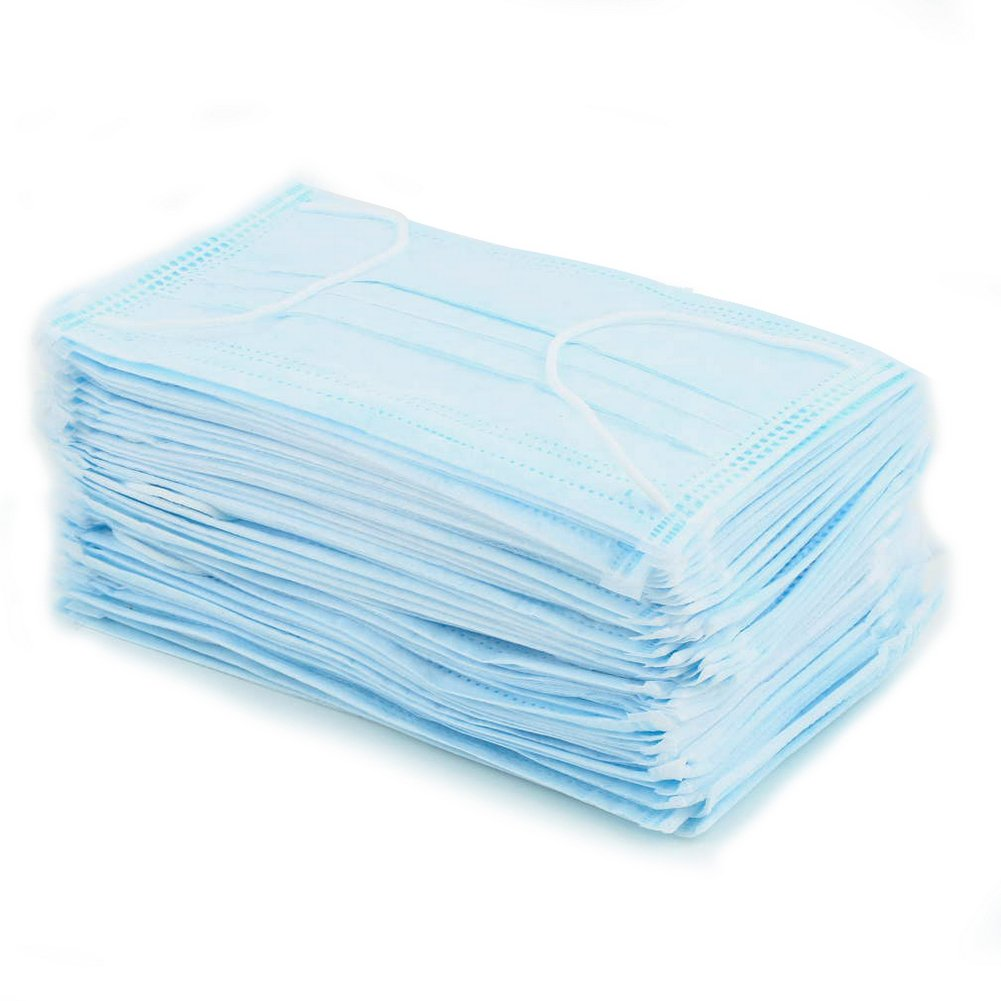 Disposable 50 Pcs Dental Medical Surgical Dust Ear Loop Face Mouth Masks New