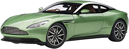 Amazon Com Aston Martin Db11 Rhd Right Hand Drive Apple Tree Green Metallic 1 18 Model Car By Autoart 70269 Toys Games