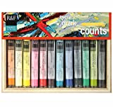 R&F Handmade Paints Dozen Pigment Stick Set