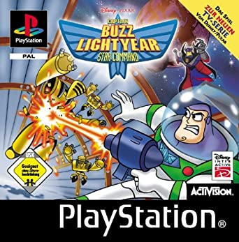 Captain Buzz Lightyear Of Star Command Playstation Amazonde Games