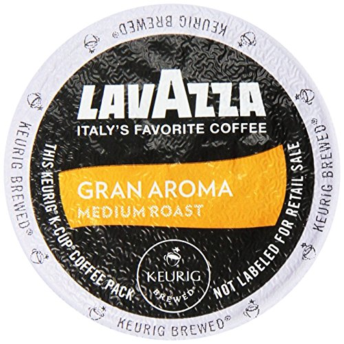 Lavazza K-Cup Portion Pack for Keurig Brewers, Gran Aroma, 2