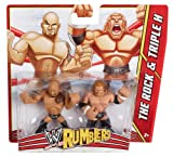WWE Rumblers The Rock and Triple H Figure, 2-Pack