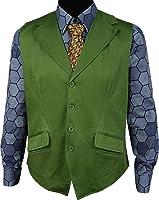 Men's Dark Knight Joker Vest Shirt Costume US Size