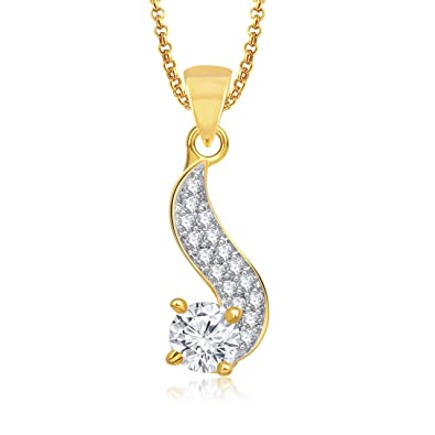 Buy valentine gifts meenaz pendant solitaire s shape locket for valentine gifts meenaz pendant solitaire s shape locket for girls and women with chain ps308 mozeypictures Choice Image