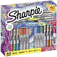 Deals on 40Ct Sharpie Permanent Markers Limited Edition Holiday Set