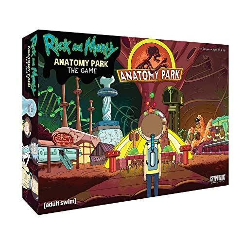 Cryptozoic Entertainment Rick And Morty Anatomy Park Game 80OFF