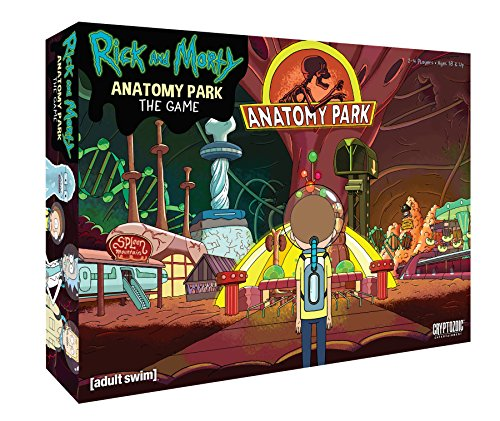 Cryptozoic Entertainment Rick and Morty Anatomy Park Game - Anatomy Game