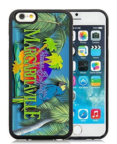margaritaville jimmy buffett Black iPhone 6 4.7 inch TPU Cellphone Case Unique and Fashion Cover