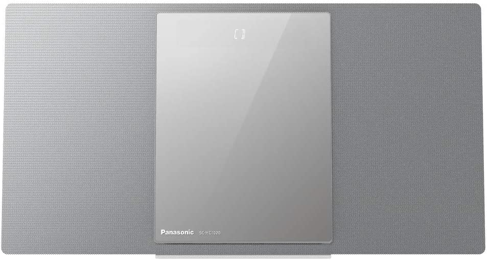 Panasonic SC-HC1020EGS - Microcadena multiroom (40 W, Bluetooth, Sonido Hi-Fi, Wi-Fi de 5GHz y Qualcomm AllPlay) Color Plata