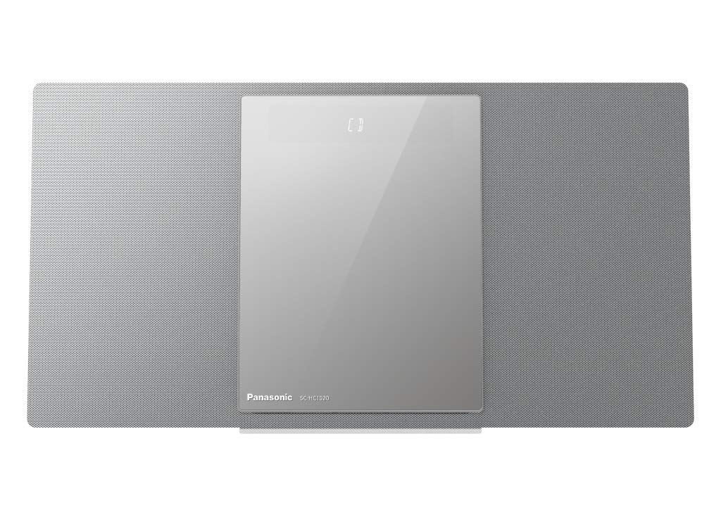 Panasonic SC-HC1020EGS - Microcadena multiroom (40 W, Bluetooth, Sonido Hi-Fi, Wi-Fi de 5GHz y Qualcomm AllPlay) Color Plata