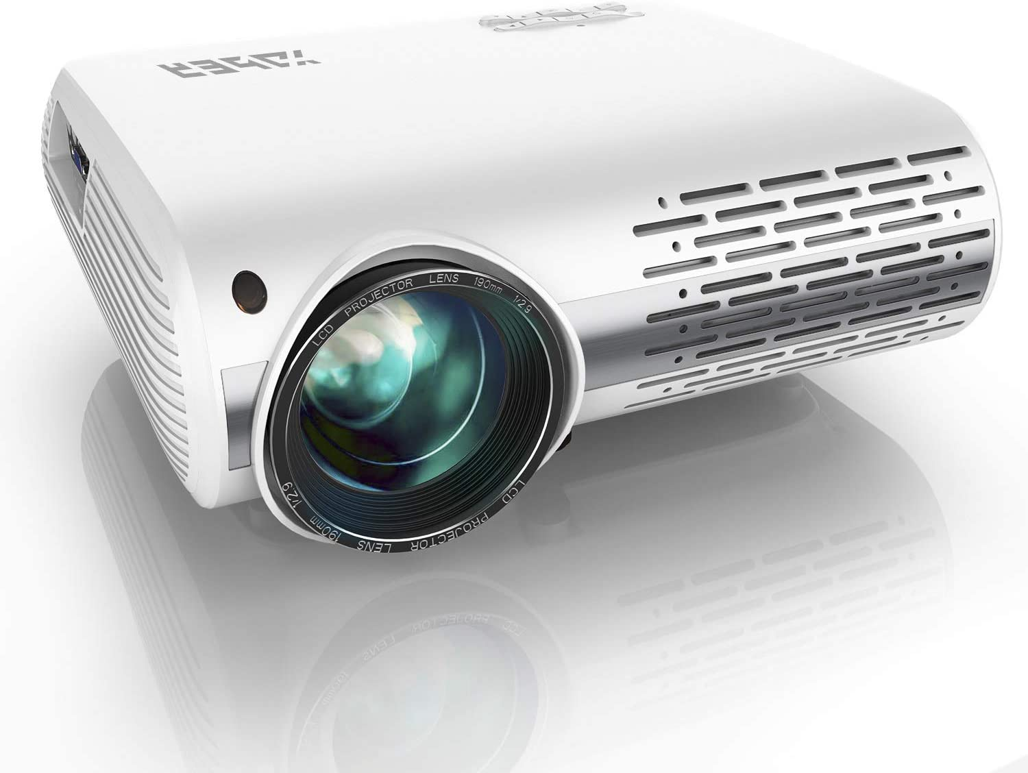 YABER Native 1080P 6500 Lumens Projector - affordable projector for day light viewing
