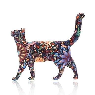 Baiyao Broche De Acrílico De Gato Mujer Broches Para Ropa Broches Para Vestidos: Amazon.es: Ropa y accesorios