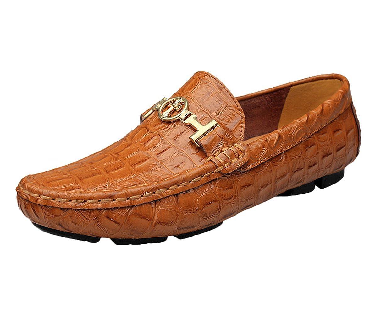 Ommda Homme Mocassin Pantoufle Loafer Chaussures en Cuir  Amazon.fr   Chaussures et Sacs 80e9d8b1b54b