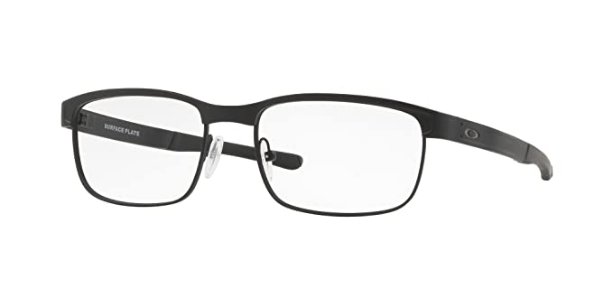 d53107c96c2 Image Unavailable. Image not available for. Color  Oakley - Surface Plate  (52) - Matte Black Frame-Only Lenses
