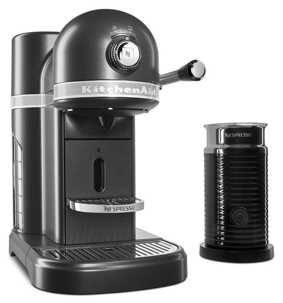 KitchenAid KES0504SZ Nespresso Bundle, Slate