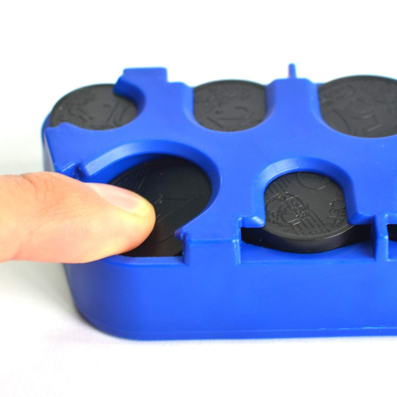 Myboree Mini Coin Change Holder Storage Organizer Box Blue