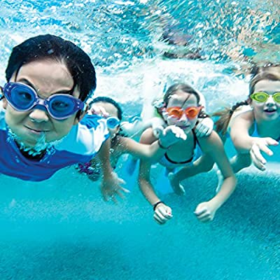 SwimWays Tarpon Trainer Goggles - Swim Goggles for Kids and Adults - Swimming Eyes Protector: Toys & Games